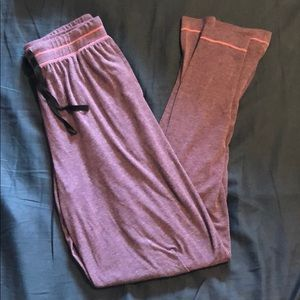 Purple comfy lounge pants